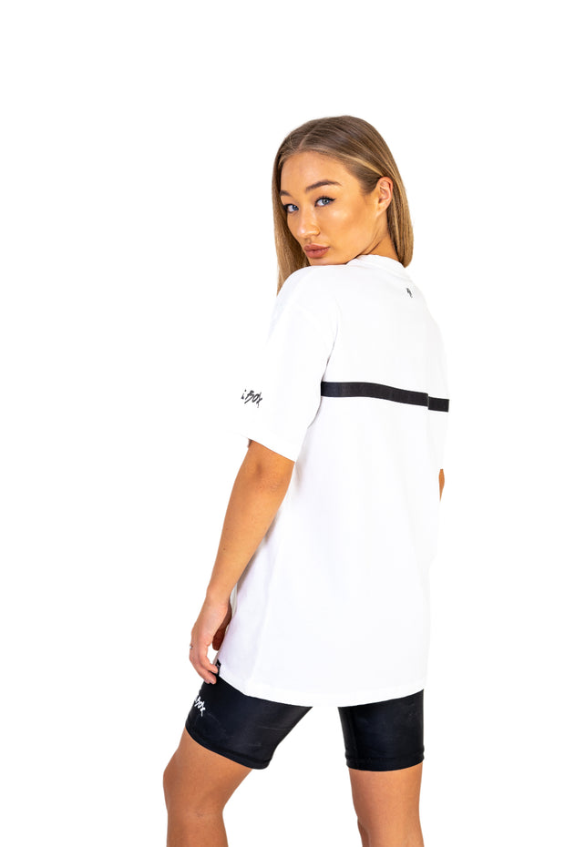 Women's Ice White Comfort Tee