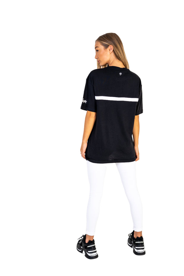Women's Ferrari Black Oversized Tee
