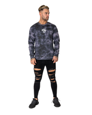 Black Element Tie Dye Crew Neck