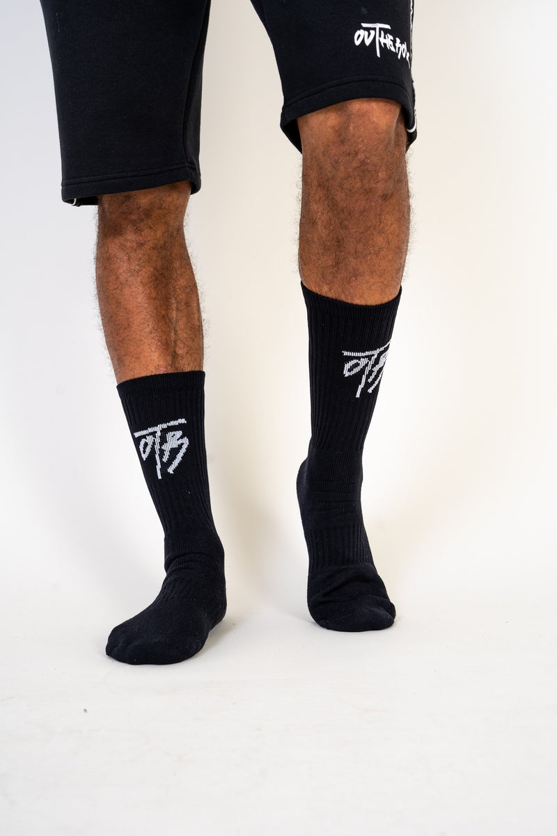 OTB Black Dri - Fit Socks