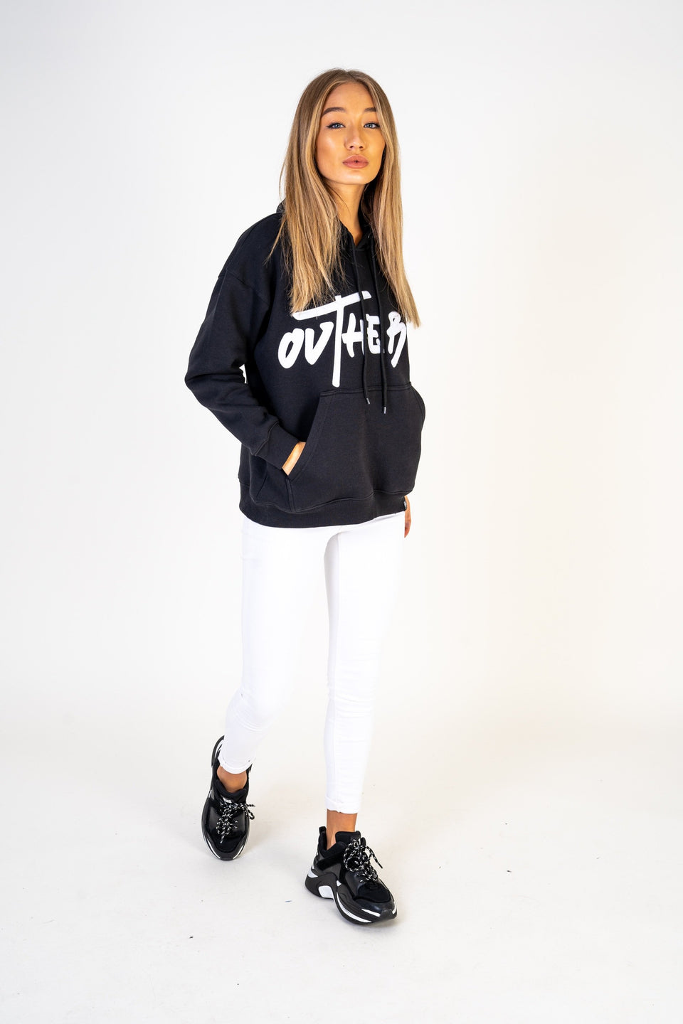 Women's Black Comfort Hoodies