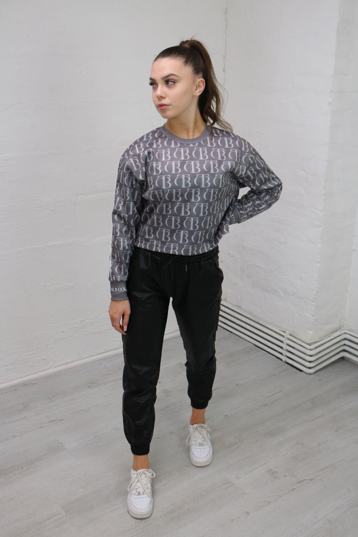 Cropped Luxe Sweatshirt