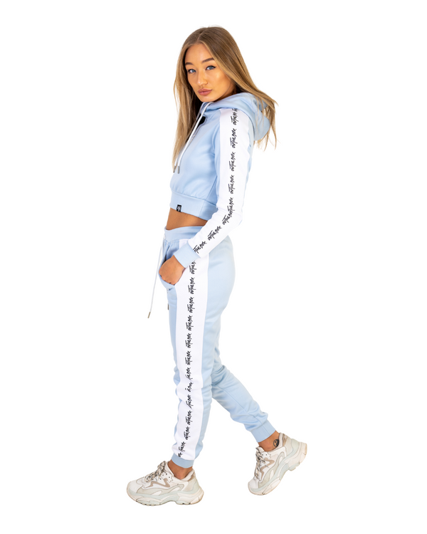 Baby Blue Poly Cruise Joggers