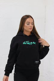Ladies Core Black Hoodie