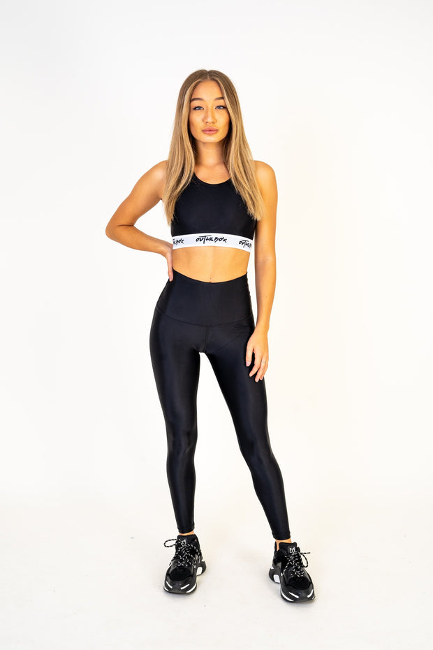Women's Black Sports Bra