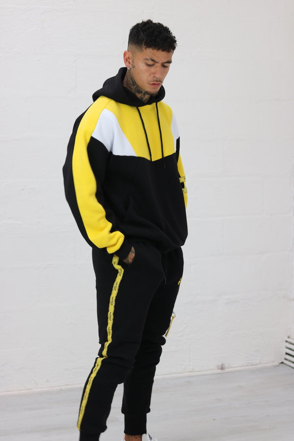 Black & Yellow Utility JOGGER'S