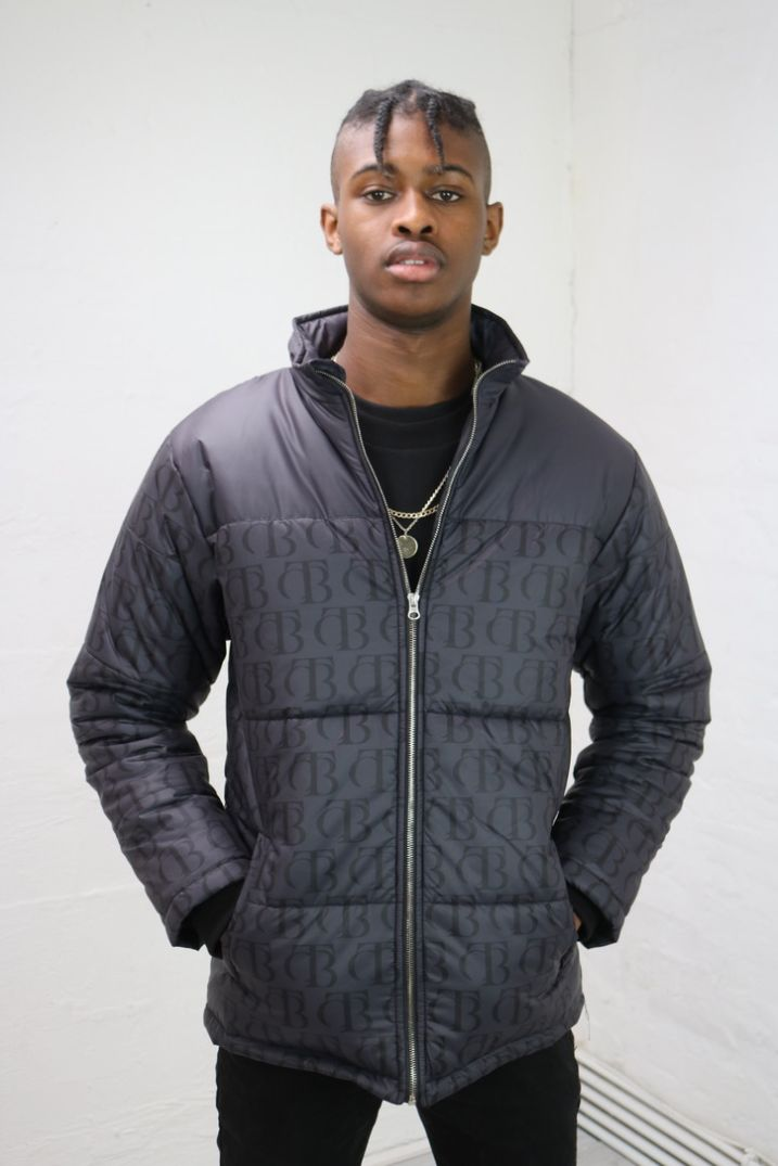 Black Echo Puffer Jacket