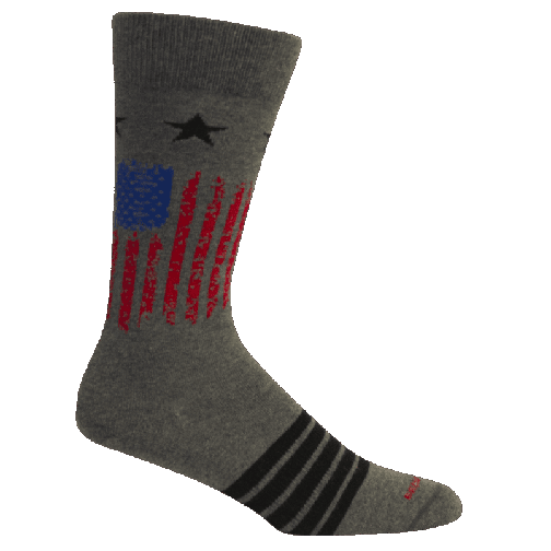 Alamance Grey Heather Sock