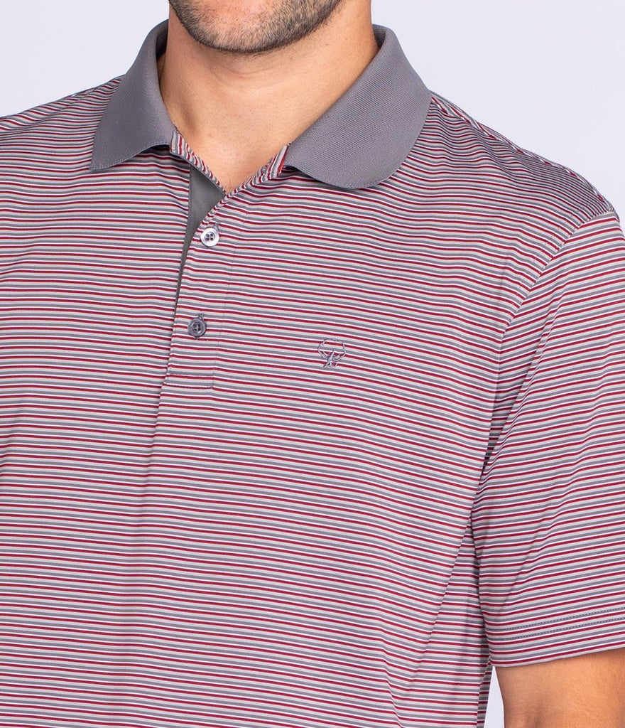 southern shirt rutledge stripe polo