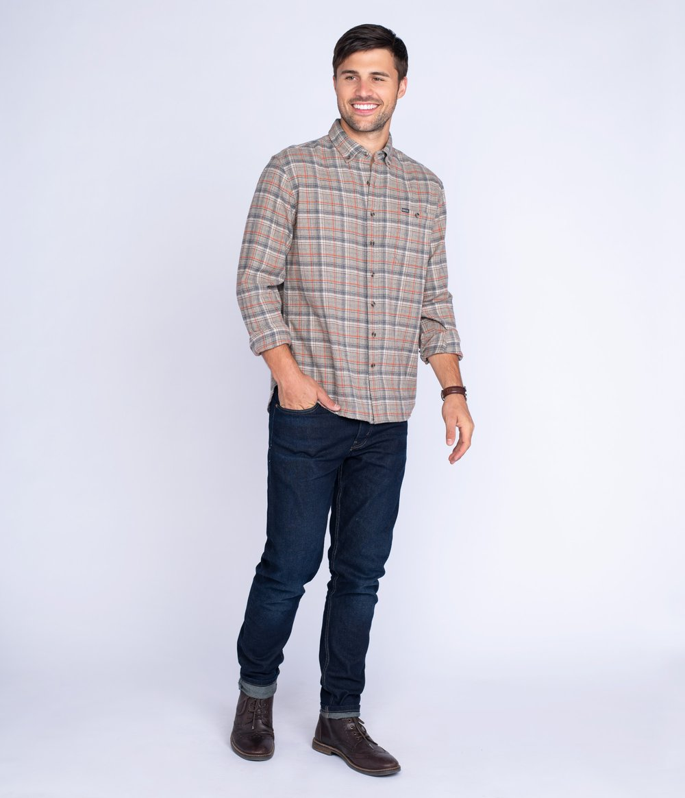 Porter Heather Men's Flannel