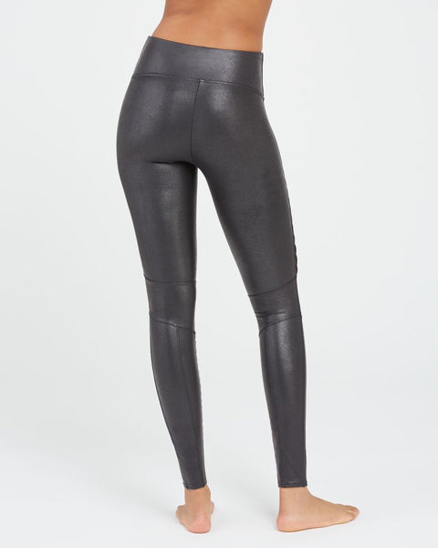 Faux Leather Moto Leggings