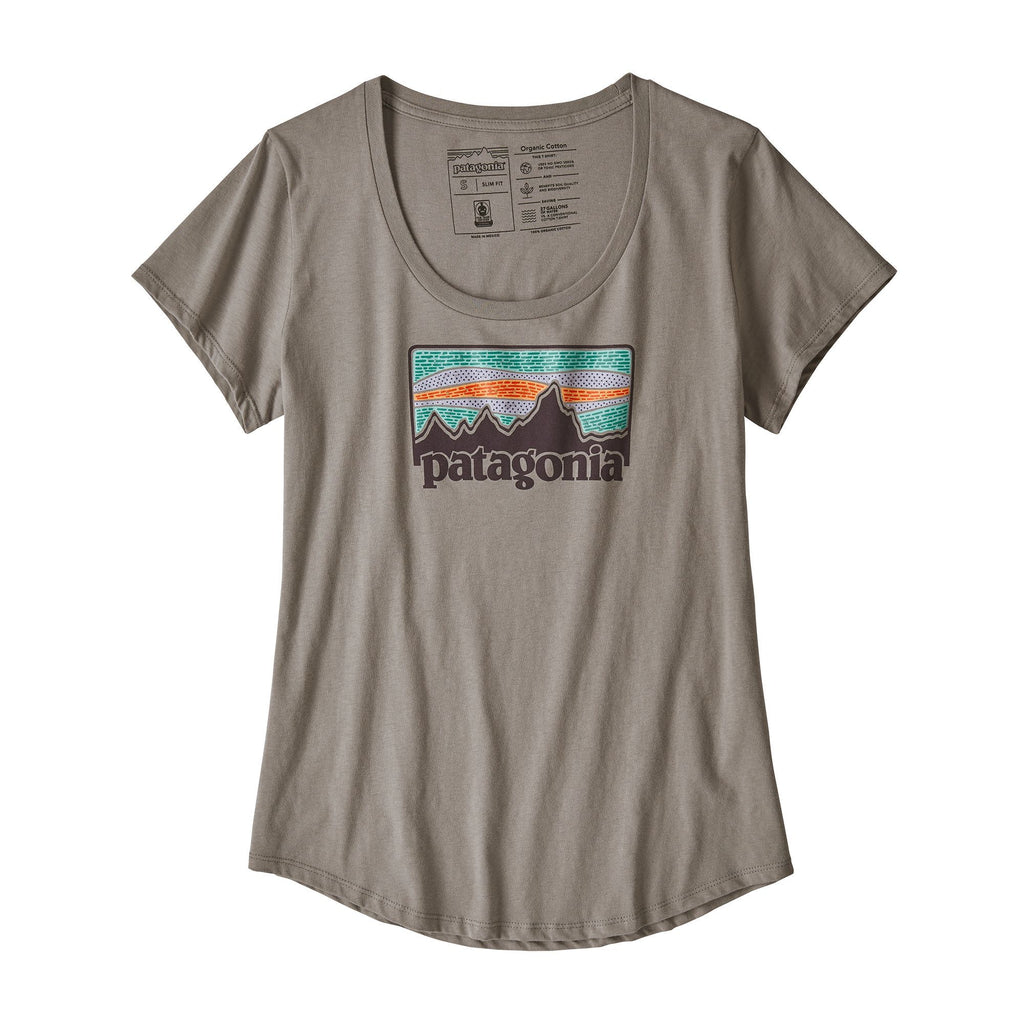 PATAGONIA WOMEN'S SOLAR RAYS '73 ORGANIC COTTON SCOOP TEE