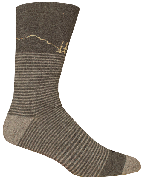 Soda Butte Dark Grey Socks