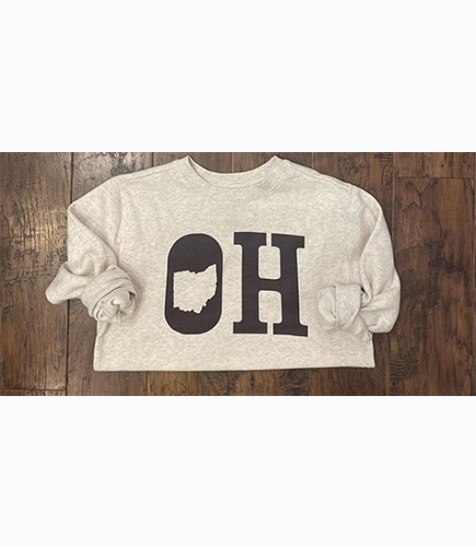 Fleece Ohio Pullover