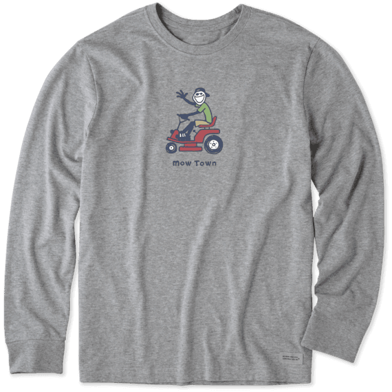 Men's Mow Town Long Sleeve Vintage Crush