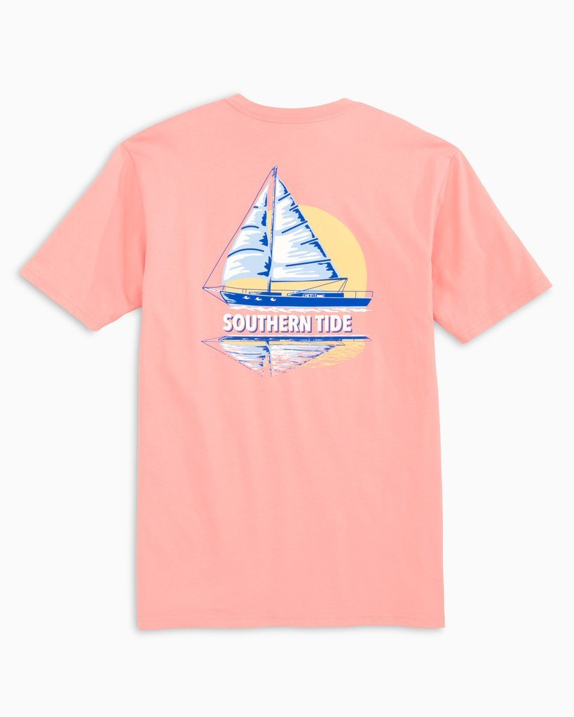 Sunset Sailing Tee