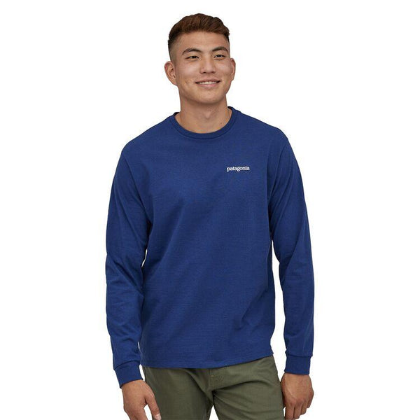 PATAGONIA MEN'S LONG-SLEEVED FITZ ROY HORIZONS RESPONSIBILI-TEE