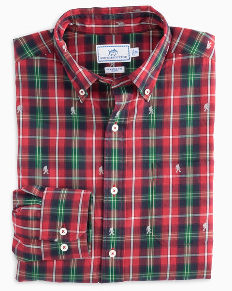 Christmastide Button Down Shirt