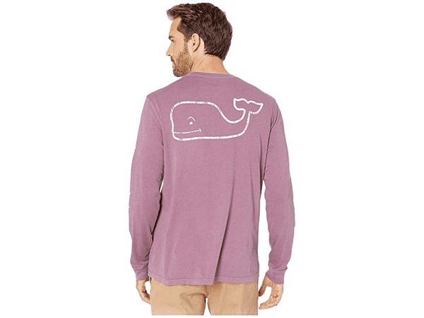 Garment Dyed Vintage Whale Long Sleeve