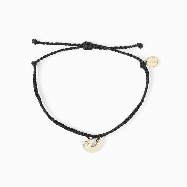 Sloth Black Gold Bracelet