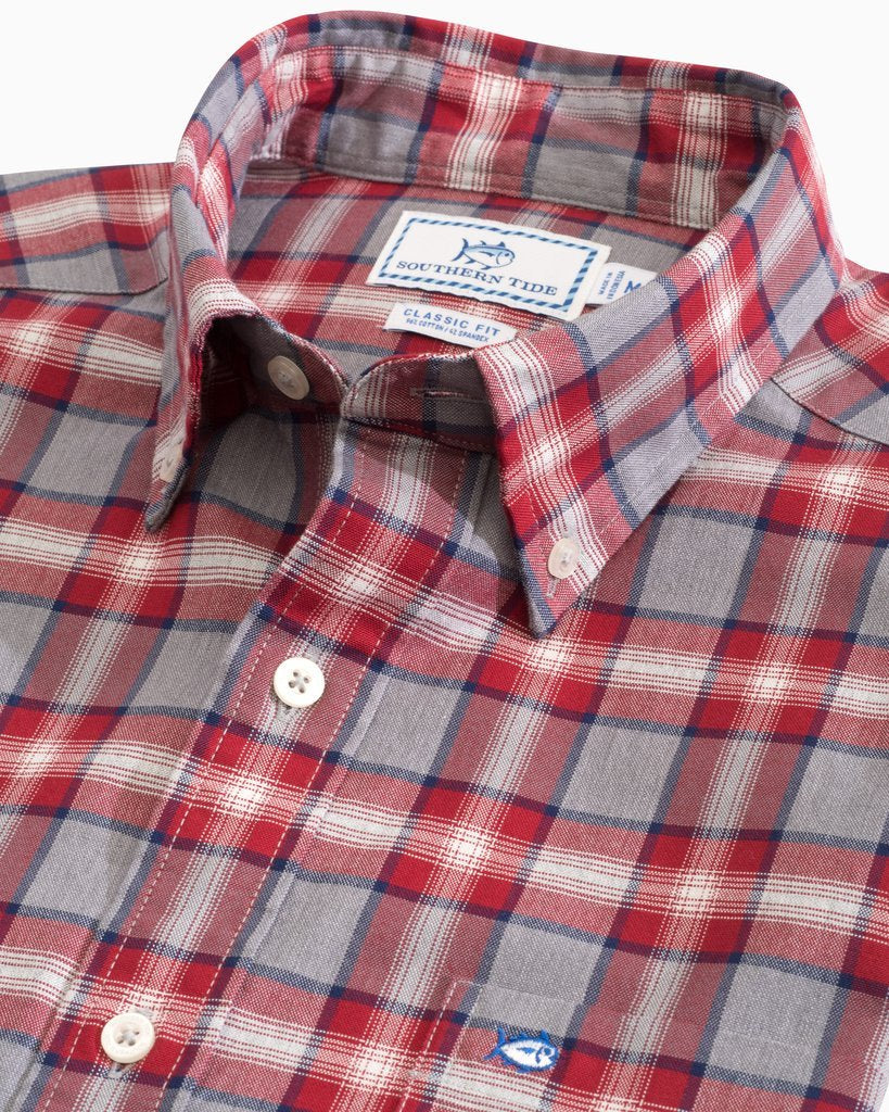 Flag Hoist Plaid Oxford