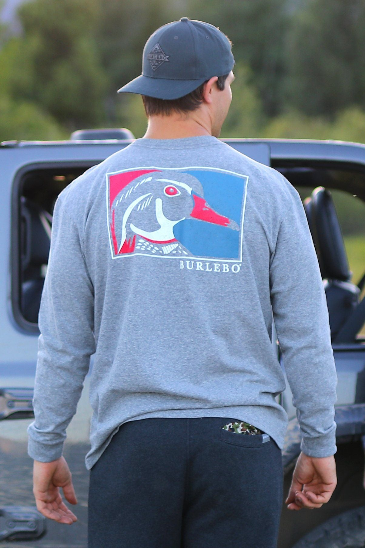 Wood Duck Long Sleeve Tee