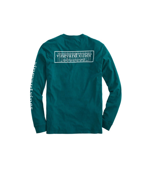 Football Field Box Pocket Long Sleeve