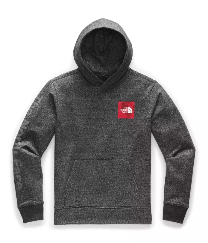 Mens Recycled Materials Pullover Hoodie