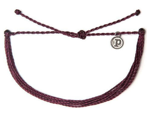 Muted Solid Bracelet- Burgundy