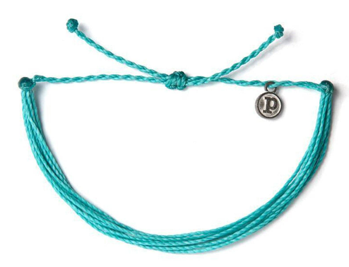 Solid Bracelet-Pacific Blue Solid