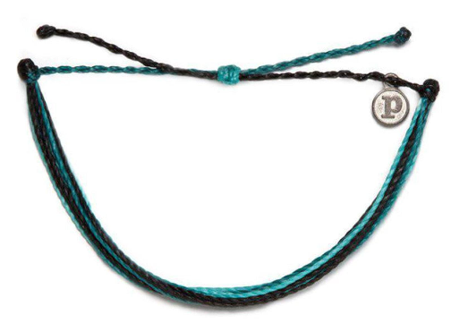SPRING MUTED BRACELET-SURFBOARD LEASH MULTI