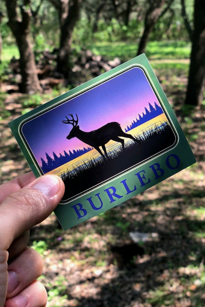 DEER STICKER - BURLEBO