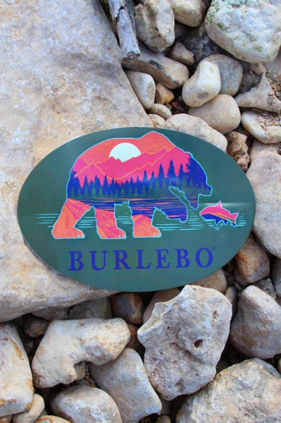 BEAR STICKER - BURLEBO