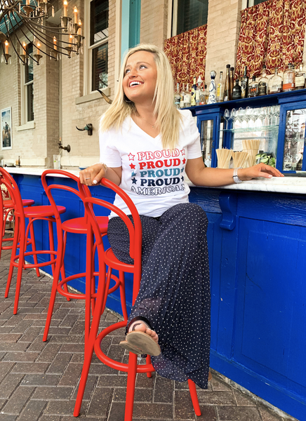 Things She Loves Proud American T-Shirt