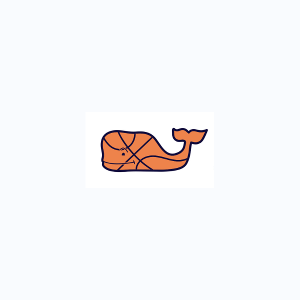Basketball Whale Sports Stckr
