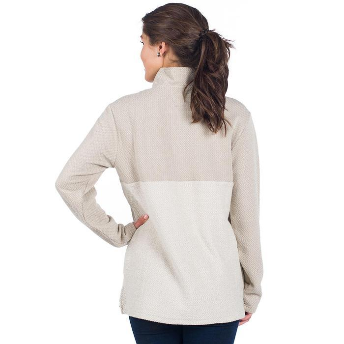 Herringbone Loop Pullover