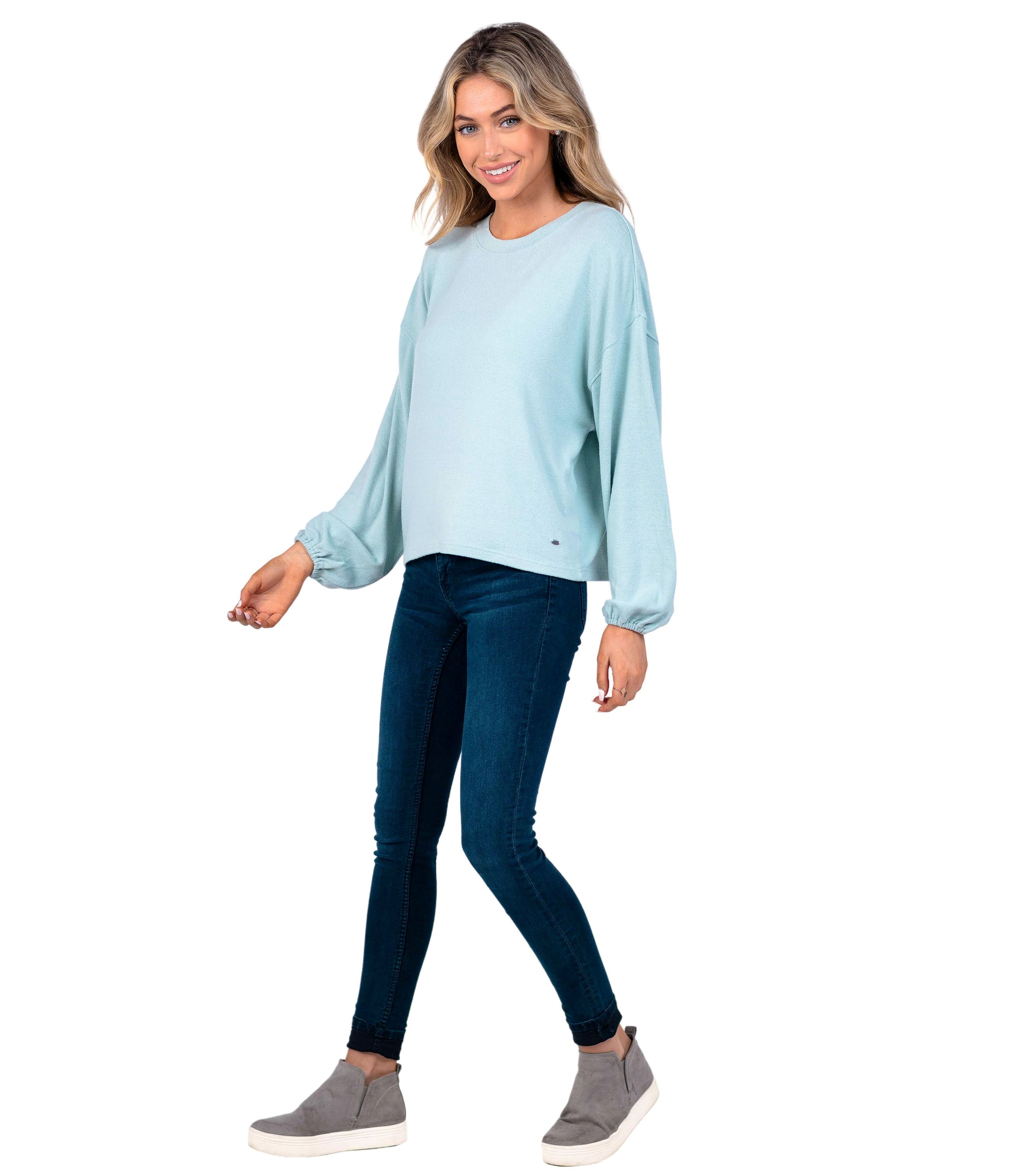 Brushed Bella Pullover