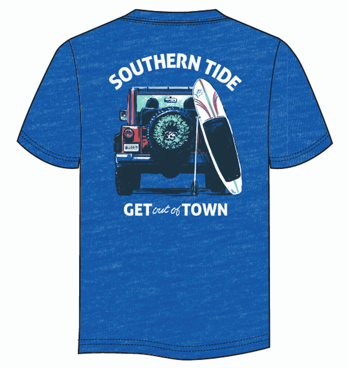 Men's Get Out Of Town Tee