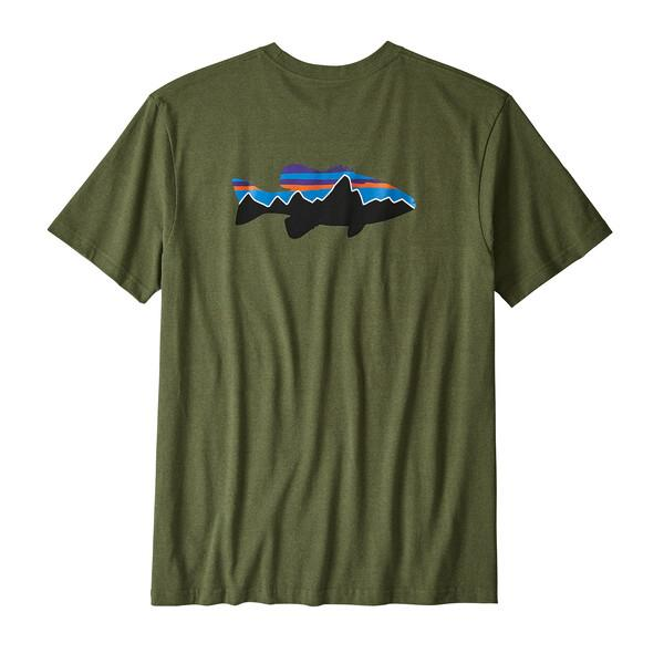 Men's Fitz Roy Smallmouth Responsibili-Tee