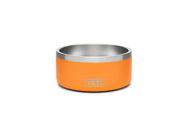 Boomer 4 Dog Bowl King Crab Orange