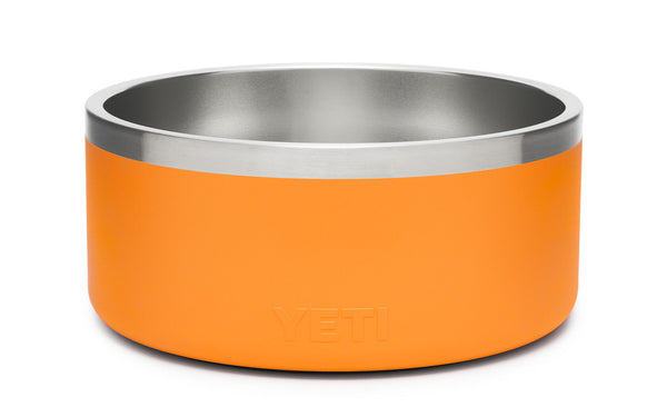 Boomer 8 Dog Bowl King Crab Orange