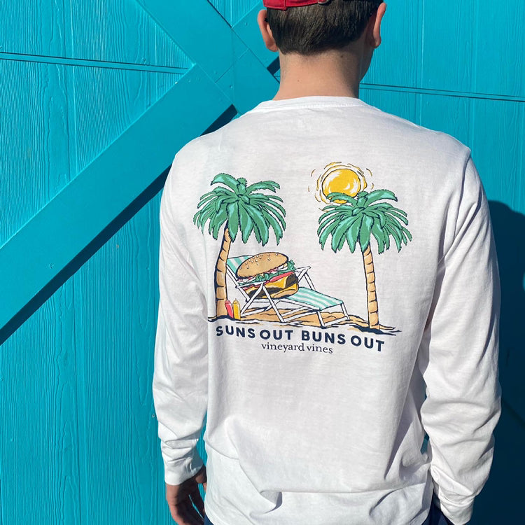Suns Out Buns Out Pocket Tee