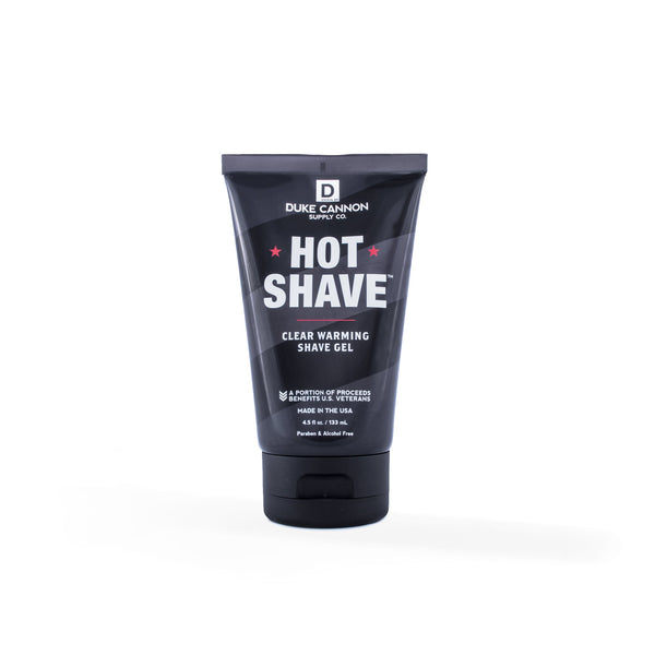 SUPPLY HOT SHAVE CLEAR WARMING GEL - DUKE CANNON