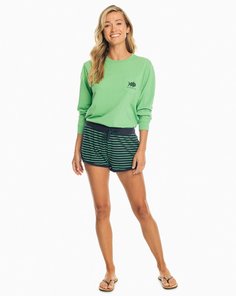 Striped Skipjack Long Sleeve Tee
