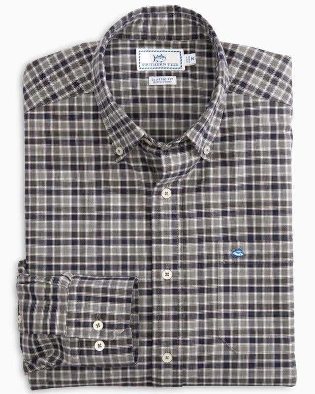 Windsail Plaid Oxfrd Sport Shirt