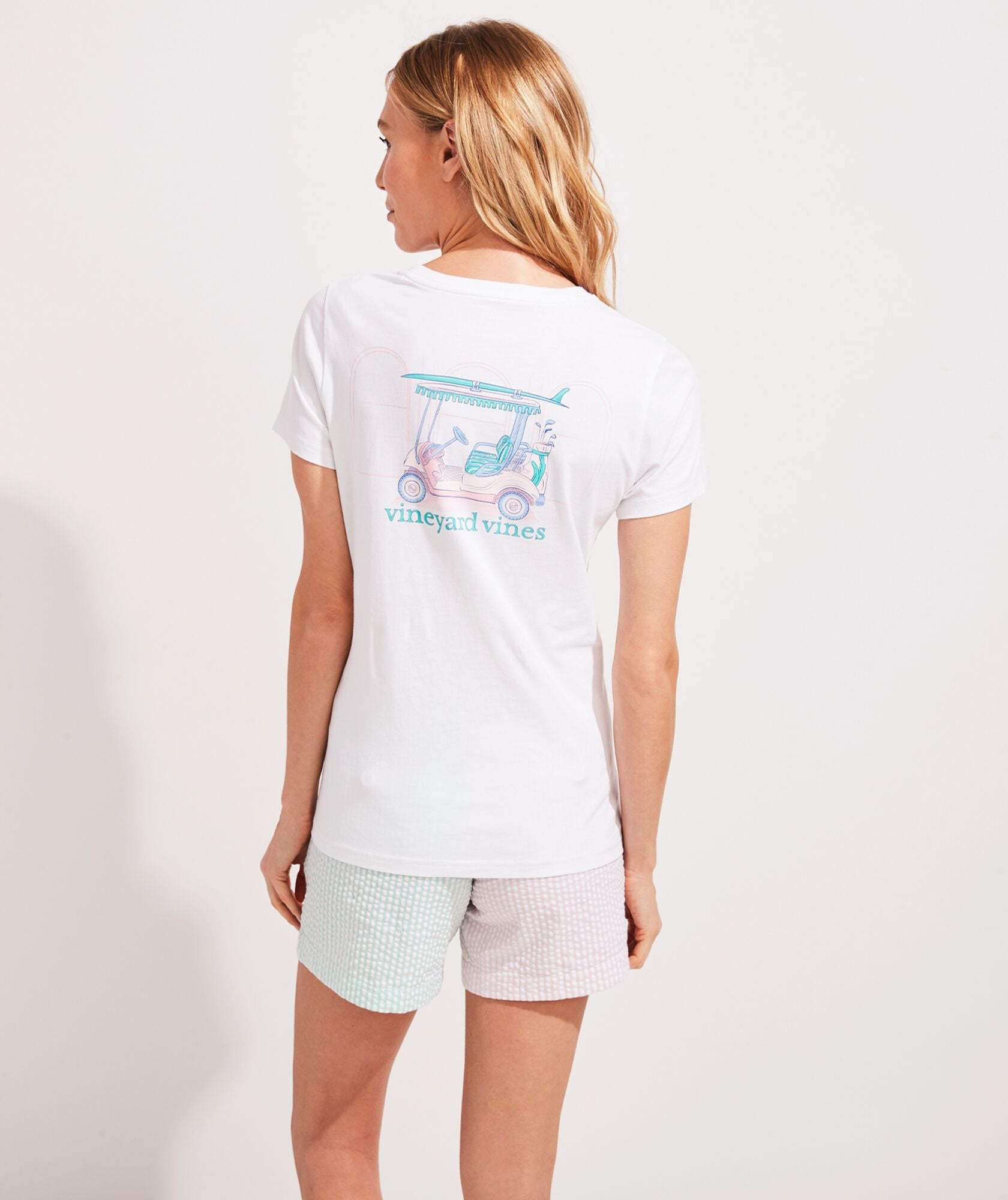 Golf Cart Pocket Tee