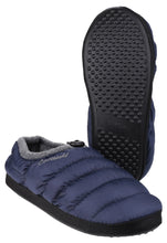 Navy Camping Slipper Jnr
