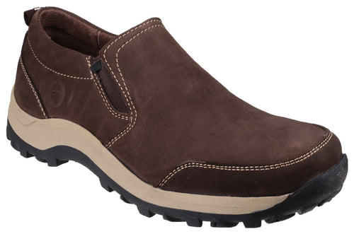 Brown Sheepscombe Slip On Shoe