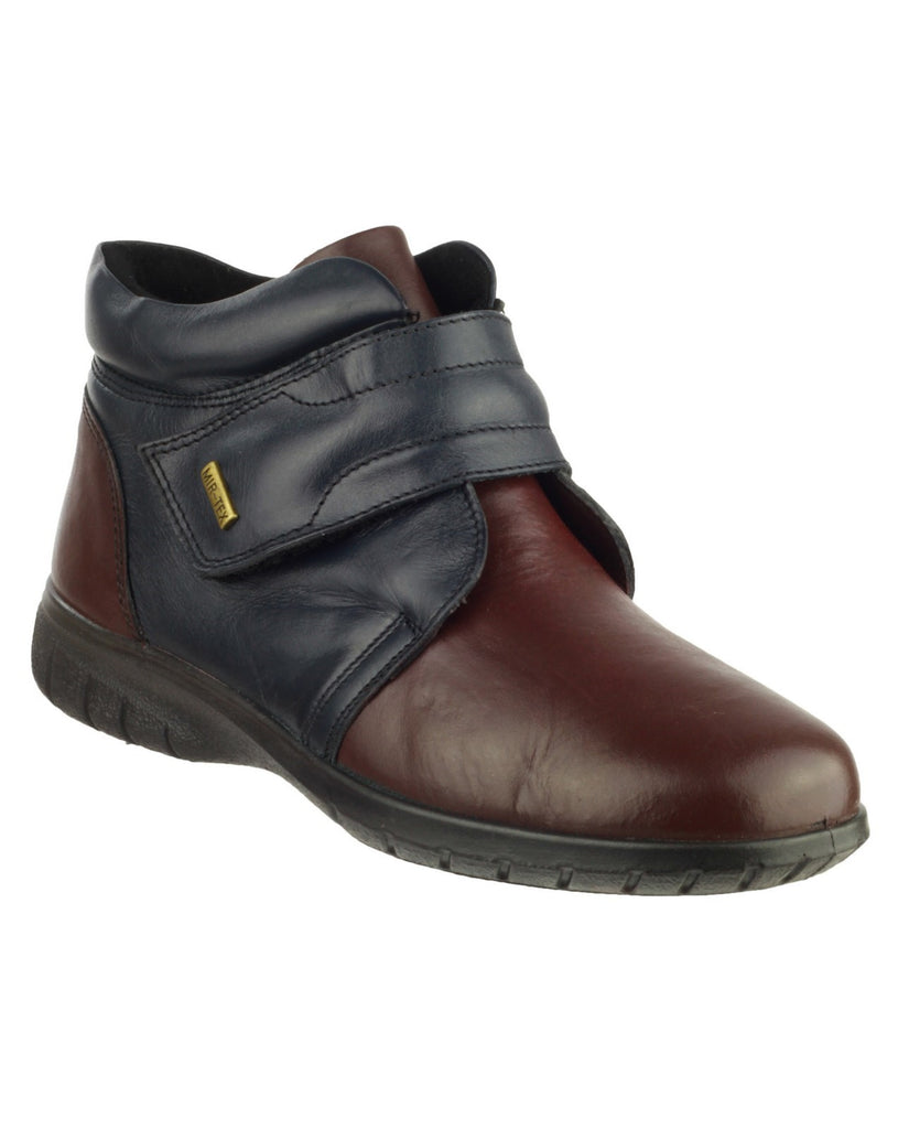 Chalford Ankle Boot Navy/bordo