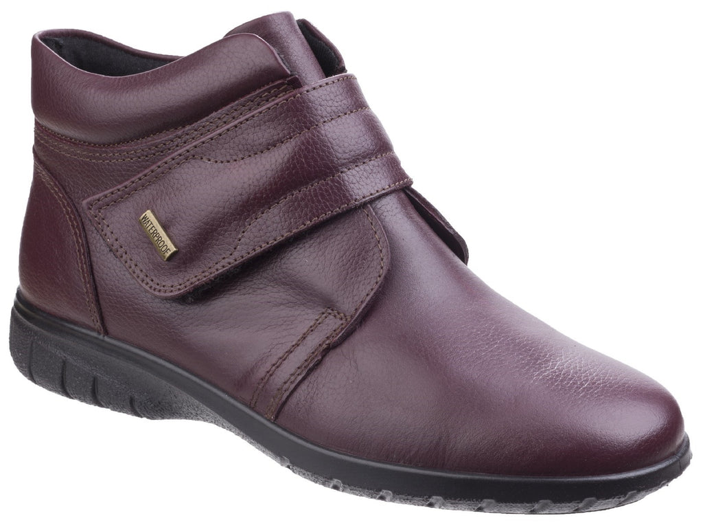 Chalford Ankle Boot Dark Red